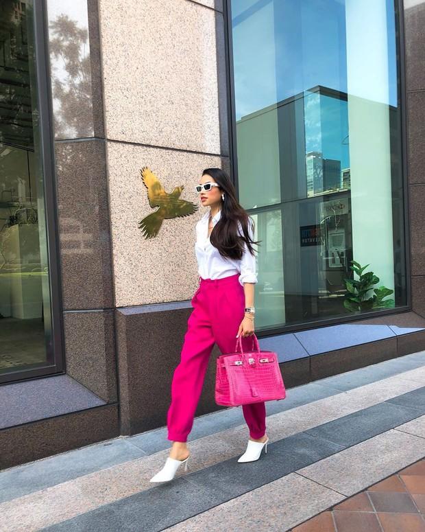 Nhìn phong độ thời trang trồi sụt của Phạm Hương để thấy: Đồ màu trung tính sang chảnh hóa style đỉnh thế nào - Ảnh 8.
