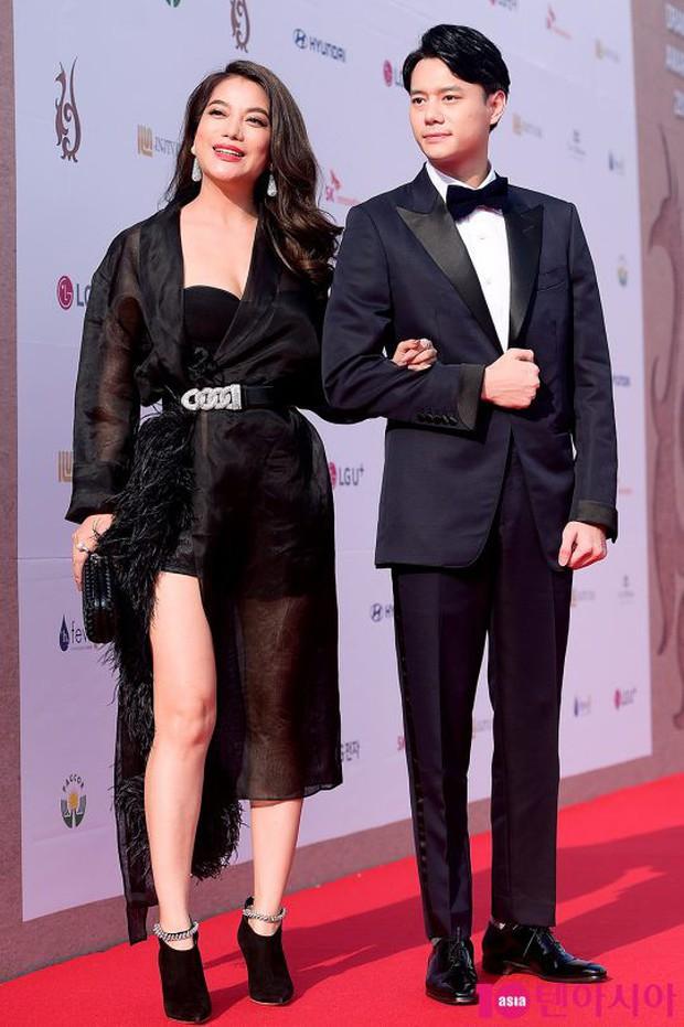 Thảm đỏ Seoul Drama Awards: Trương Ngọc Ánh - Anh Dũng tự tin, Ji Chang Wook quá bảnh, Jang Nara bị dàn mỹ nhân lấn át - Ảnh 2.
