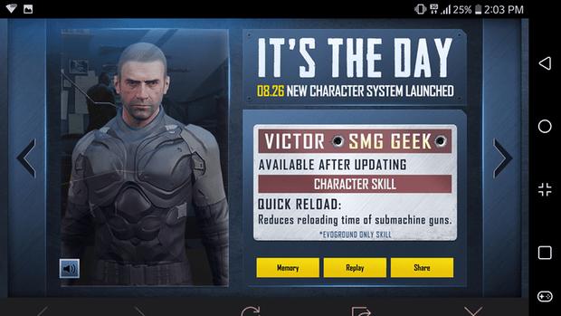 PUBG Mobile ra mắt hệ thống nhân vật mới, người chơi đã có thể trải nghiệm! - Ảnh 3.