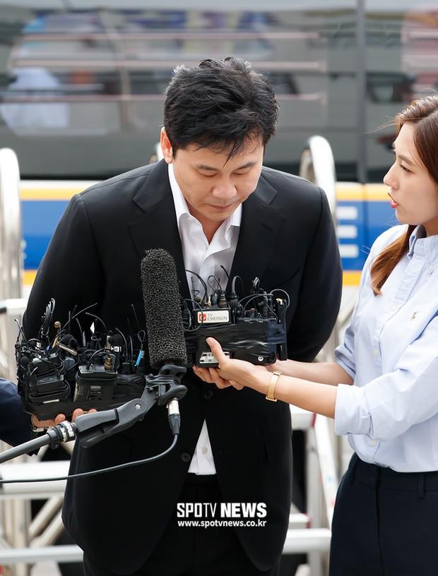 Yang Hyun Suk lần đầu chính thức lộ diện sau chuỗi cáo buộc: Chủ tịch YG quyền lực năm nào đã chịu cúi đầu! - Ảnh 6.
