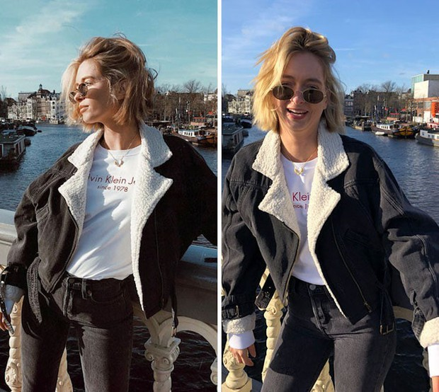 Loạt ảnh bóc trần sự khác biệt giữa Instagram - đời thực của một fashionista cho thấy: lên đồ lồng lộn mà không biết pose thì cũng công cốc - Ảnh 9.