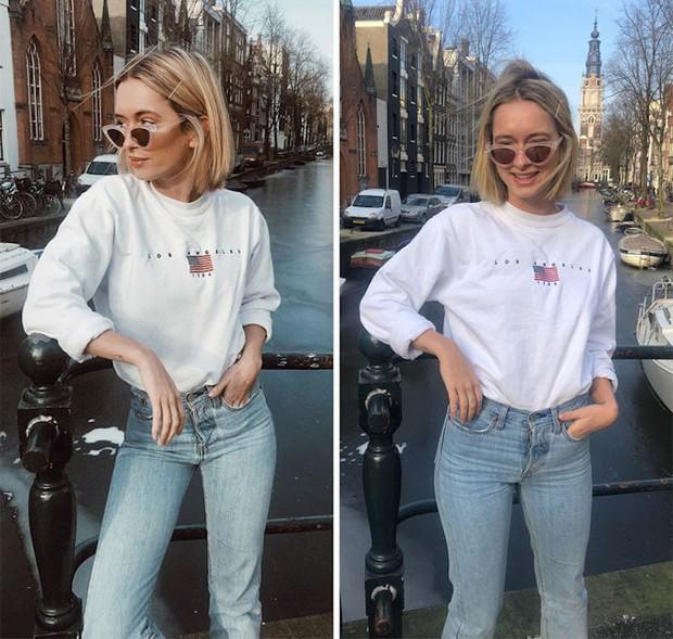 Loạt ảnh bóc trần sự khác biệt giữa Instagram - đời thực của một fashionista cho thấy: lên đồ lồng lộn mà không biết pose thì cũng công cốc - Ảnh 7.