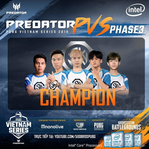 Predator PUBG Vietnam Series Phase 3 là giải đấu PUBG kịch tính nhất từ trước đến nay, Sky Gaming Daklak lên ngôi vô địch nghẹt thở - Ảnh 2.