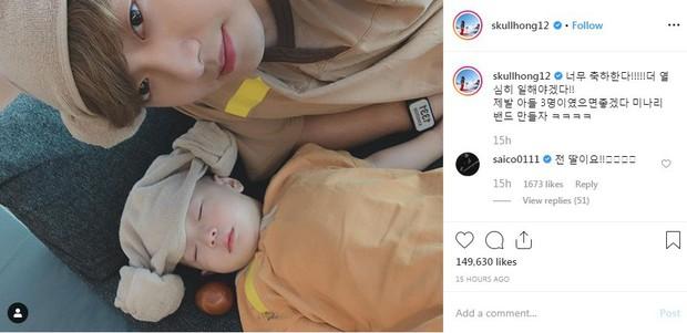 Cặp bố mẹ trẻ nhất Kbiz chuẩn bị đón 2 con sinh đôi, nữ idol ngực khủng 23 tuổi đã thành bà mẹ trẻ 3 con - Ảnh 3.