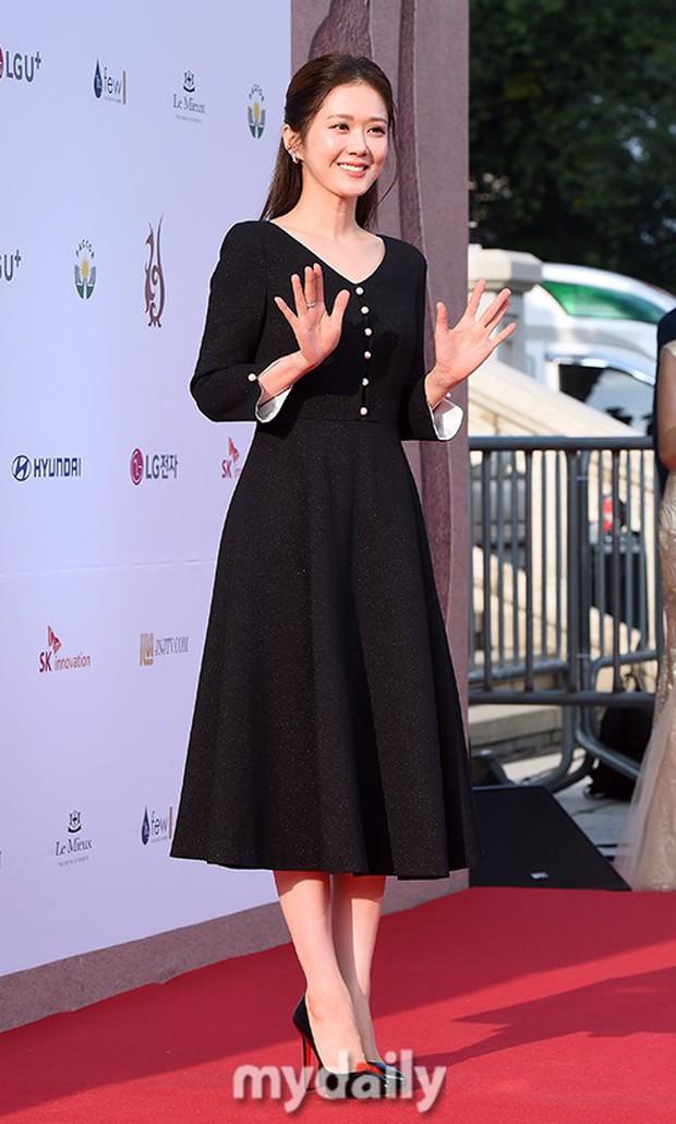 Thảm đỏ Seoul Drama Awards: Trương Ngọc Ánh - Anh Dũng tự tin, Ji Chang Wook quá bảnh, Jang Nara bị dàn mỹ nhân lấn át - Ảnh 5.