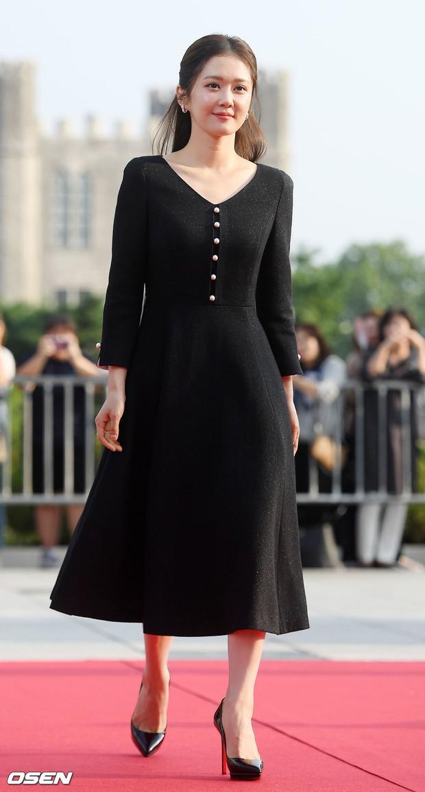 Thảm đỏ Seoul Drama Awards: Trương Ngọc Ánh - Anh Dũng tự tin, Ji Chang Wook quá bảnh, Jang Nara bị dàn mỹ nhân lấn át - Ảnh 4.
