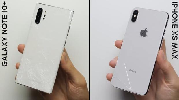 """Trông thì """"cong cớn nhưng màn hình Galaxy Note 10+ lại ăn đứt iPhone XS Max - Ảnh 1."""