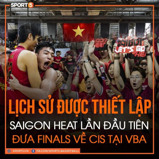 Lần đầu tiên trong lịch sử hình thành đội bóng, Saigon Heat góp mặt tại một vòng đấu chung kết - Ảnh 1.
