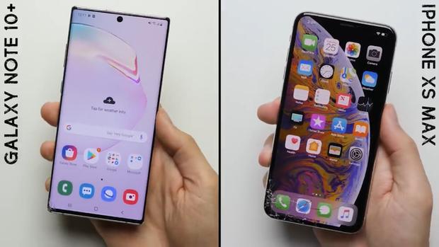 """Trông thì """"cong cớn nhưng màn hình Galaxy Note 10+ lại ăn đứt iPhone XS Max - Ảnh 3."""