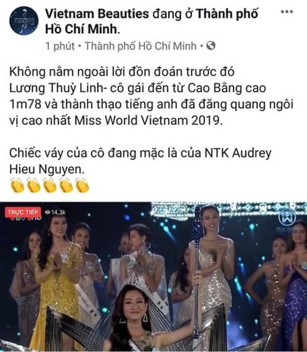 Cơn mưa lời khen dành cho Tân Hoa hậu Thế giới Việt Nam 2019: Mặt đẹp, body xuất sắc, học vấn ngoài sức mong đợi! - Ảnh 4.