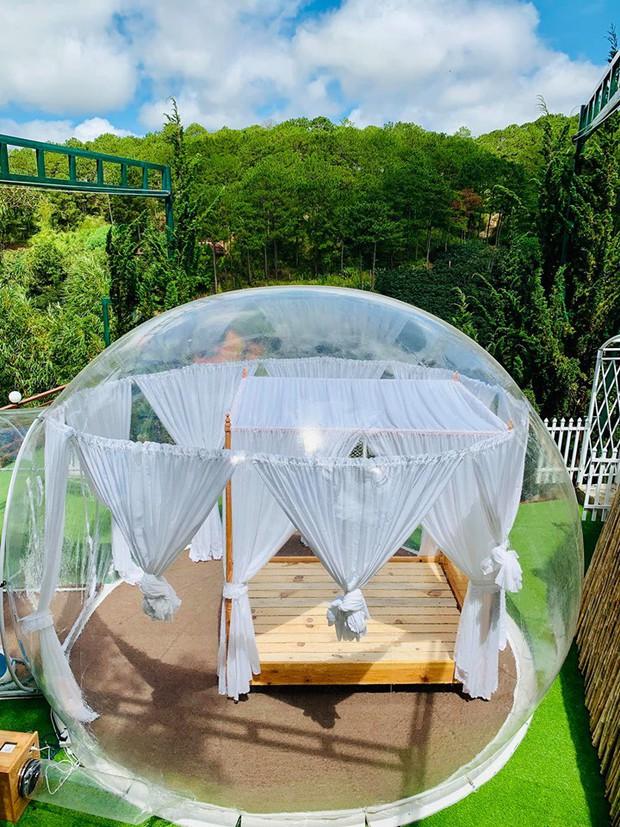 HOT: Đà Lạt lộ diện căn phòng bong bóng y hệt Bali khiến dân mạng người khen kẻ chê, đại diện resort nói gì? - Ảnh 9.