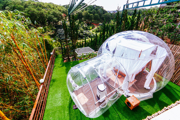 HOT: Đà Lạt lộ diện căn phòng bong bóng y hệt Bali khiến dân mạng người khen kẻ chê, đại diện resort nói gì? - Ảnh 12.