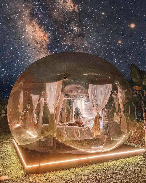 HOT: Đà Lạt lộ diện căn phòng bong bóng y hệt Bali khiến dân mạng người khen kẻ chê, đại diện resort nói gì? - Ảnh 6.
