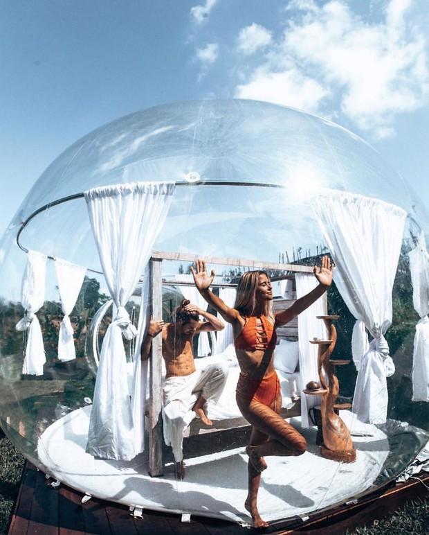 HOT: Đà Lạt lộ diện căn phòng bong bóng y hệt Bali khiến dân mạng người khen kẻ chê, đại diện resort nói gì? - Ảnh 16.