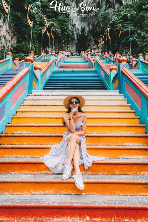 Nữ travel blogger chia sẻ bí kíp sống ảo tại động Batu nổi tiếng để lúc đi vắng người, khi về thì hốt trọn ảnh xinh - Ảnh 7.