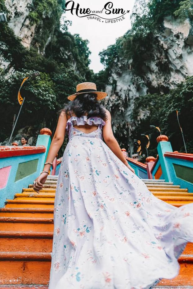 Nữ travel blogger chia sẻ bí kíp sống ảo tại động Batu nổi tiếng để lúc đi vắng người, khi về thì hốt trọn ảnh xinh - Ảnh 6.
