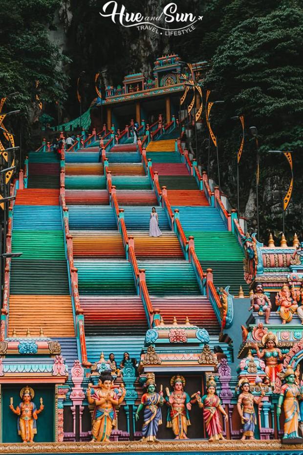 Nữ travel blogger chia sẻ bí kíp sống ảo tại động Batu nổi tiếng để lúc đi vắng người, khi về thì hốt trọn ảnh xinh - Ảnh 8.