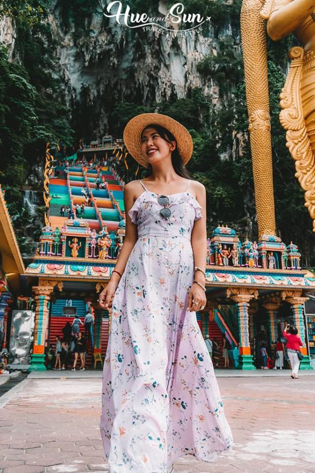 Nữ travel blogger chia sẻ bí kíp sống ảo tại động Batu nổi tiếng để lúc đi vắng người, khi về thì hốt trọn ảnh xinh - Ảnh 3.