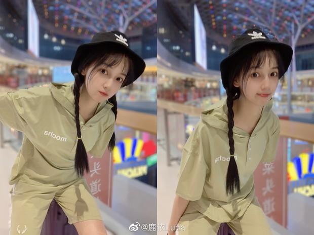 Chỉ đánh son và để tóc dài giản dị vẫn xinh ngất, chẳng trách cô sinh viên năm 2 khiến Ngô Diệc Phàm mê như điếu đổ - Ảnh 11.