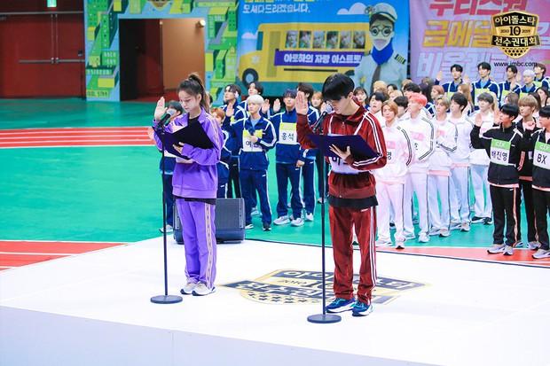 Dàn sao Hàn trong đại hội thể thao Idol: Tzuyu xứng danh nữ thần bắn cung, mỹ nam Stray Kids gây chú ý - Ảnh 17.