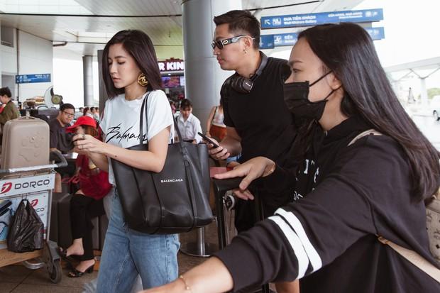 Bích Phương chanh sả xuất hiện tại sân bay sang Indonesia dự show khủng với MAMAMOO, Monsta X - Ảnh 3.