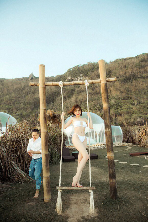 Sau ảnh nude 100% ở Bali, Ngọc Trinh lại gây sốt với loạt ảnh nội y khoe body cực nuột tuổi 30 - Ảnh 4.