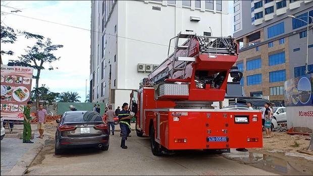 Cháy căn hộ chung cư Mường Thanh ở Đà Nẵng, người dân tá hỏa tháo chạy - Ảnh 3.
