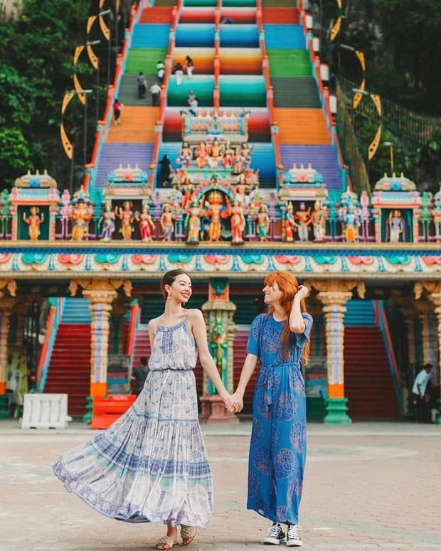 Nữ travel blogger chia sẻ bí kíp sống ảo tại động Batu nổi tiếng để lúc đi vắng người, khi về thì hốt trọn ảnh xinh - Ảnh 4.