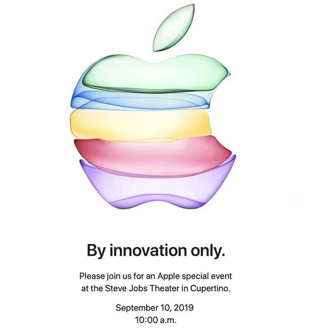 Apple công bố ngày ra mắt iPhone 11: Thư mời lạ mắt cùng dòng thông điệp thẳng tuột mà khó đoán - Ảnh 1.