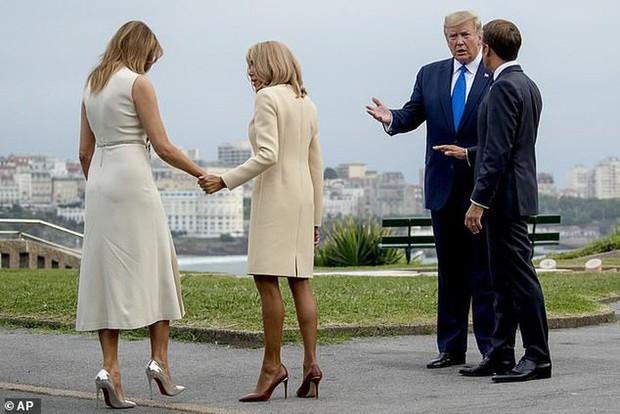 Chi hơn 400 triệu cho 3 ngày diễn ra Hội nghị G7, Phu nhân Tổng thống Pháp cũng chẳng kém bà Melania Trump ở khoản đầu tư váy áo - Ảnh 4.