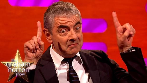 Mr. Bean gây bất ngờ với bộ dạng già nua sau khi xuất hiện trên TV Show - Ảnh 3.