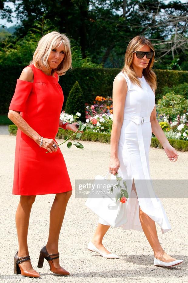 Chi hơn 400 triệu cho 3 ngày diễn ra Hội nghị G7, Phu nhân Tổng thống Pháp cũng chẳng kém bà Melania Trump ở khoản đầu tư váy áo - Ảnh 6.