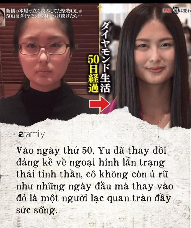 """Thử nghiệm """"tái sinh"""" trong 50 ngày ở Nhật: Từ kẻ tự ti luôn đeo khẩu trang đến cô gái đầy sức sống và quan điểm cái đẹp khiến chị em suy ngẫm - Ảnh 6."""