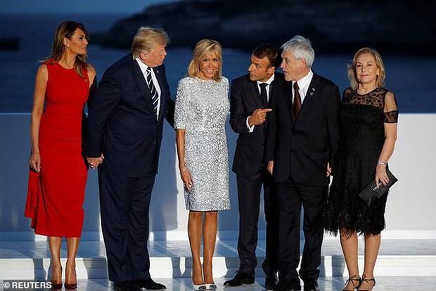 Chi hơn 400 triệu cho 3 ngày diễn ra Hội nghị G7, Phu nhân Tổng thống Pháp cũng chẳng kém bà Melania Trump ở khoản đầu tư váy áo - Ảnh 8.