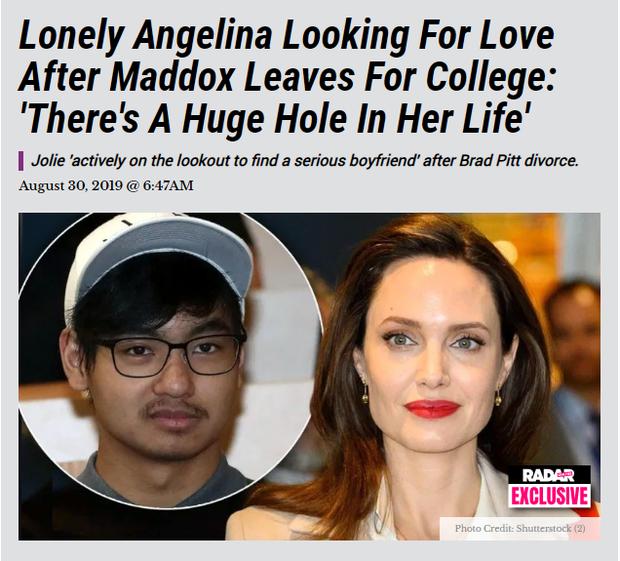 Rộ tin Angelina Jolie vội tìm bạn trai mới sau khi con trai lớn Maddox sang Hàn Quốc du học - Ảnh 1.