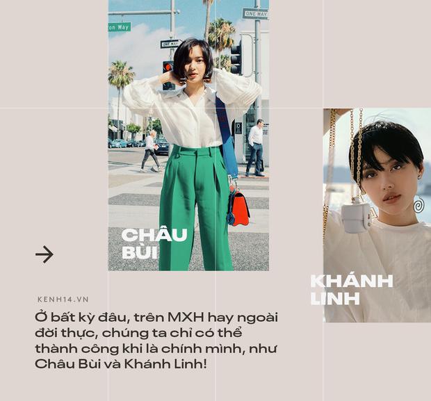 Châu Bùi, Khánh Linh: Con đường tự xây dựng thương hiệu cá nhân, một bước xé mác hot girl nhạt nhoà để thăng hạng trong lòng người trẻ - Ảnh 16.