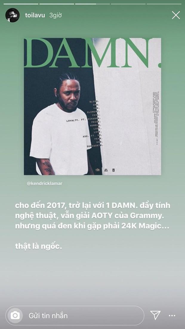 Hoàng tử indie Thái Vũ ám chỉ Taylor Swift không xứng đáng với giải Grammy, công khai ủng hộ màn giật mic của Kanye West - Ảnh 3.