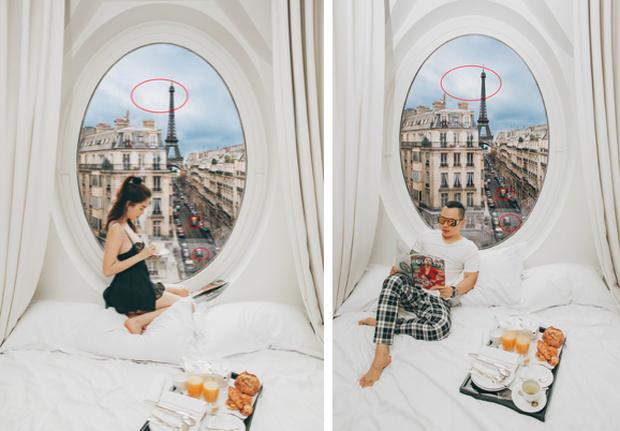"""Hễ Ngọc Trinh và Vũ Khắc Tiệp cùng đi du lịch là… có chuyện: Ảnh nude 100% ở Bali vừa rồi còn chưa gây sốc bằng đợt """"ngưng đọng thời gian"""" ở Paris - Ảnh 9."""