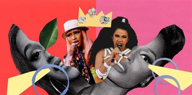 Cardi B tiếp tục lập thêm kỷ lục siêu to khổng lồ mà Nicki Minaj có nằm mơ cũng không có được - Ảnh 1.