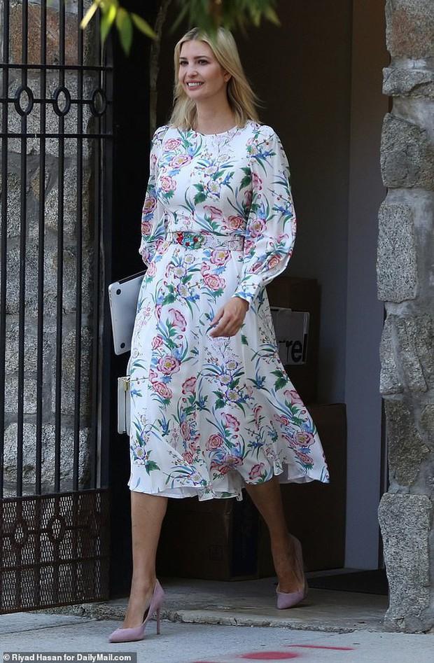 Mặc đẹp cũng khổ: con gái Tổng thống Trump mặc lại váy cũ vẫn bị dị nghị chỉ vì mặc... quá đẹp - Ảnh 1.