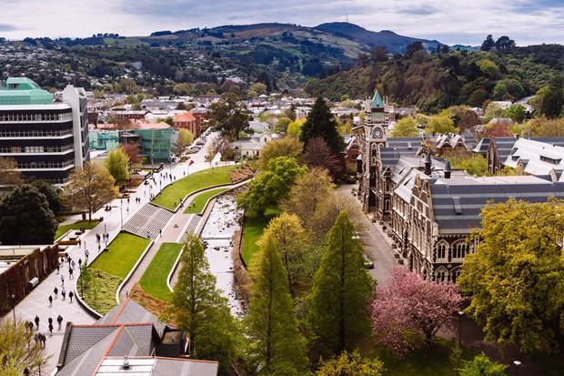 Khám phá một trong những trường Đại học đẹp nhất thế giới tại New Zealand - Ảnh 1.