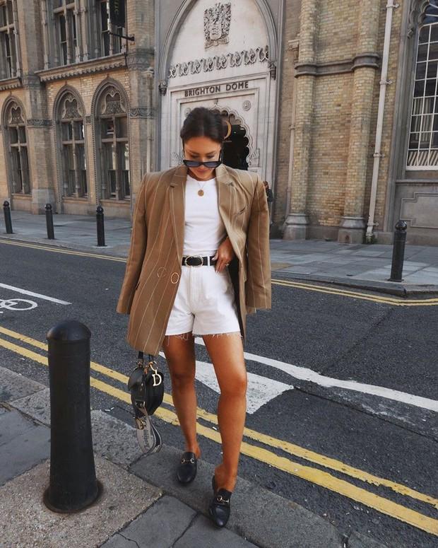 Quần short + blazer: Có cả loạt cách mix đồ giúp chân dài phải biết cho style của các nàng tuổi băm - Ảnh 5.