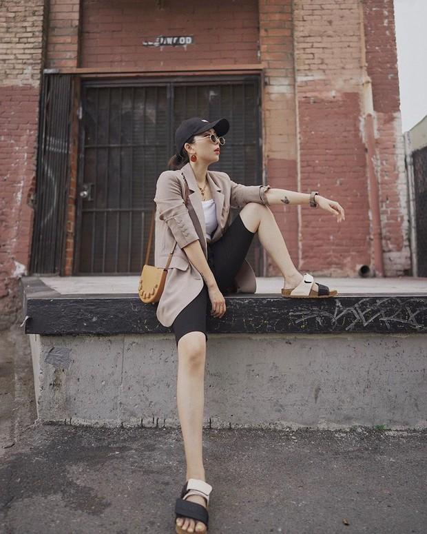 Quần short + blazer: Có cả loạt cách mix đồ giúp chân dài phải biết cho style của các nàng tuổi băm - Ảnh 6.