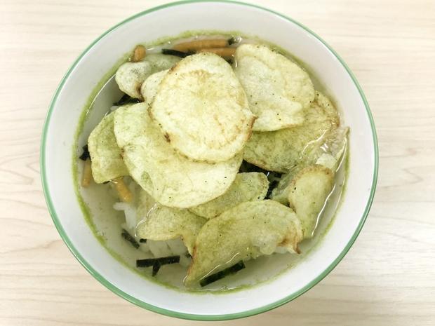 Tip ăn uống hiếm ai dám thử của người Nhật: khoai tây ngâm trà xanh - Ảnh 3.
