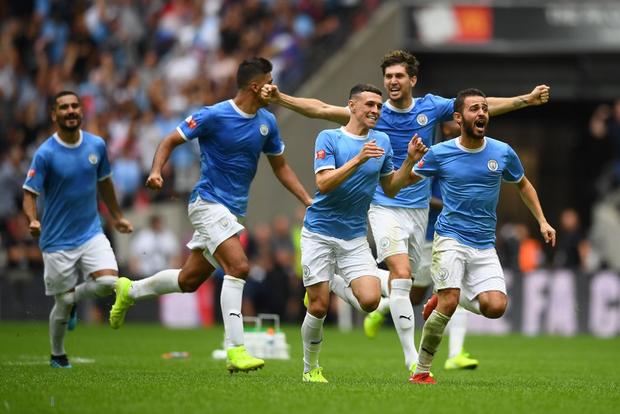 Man City đoạt Siêu cúp Anh sau loạt luân lưu cân não với Liverpool - Ảnh 1.
