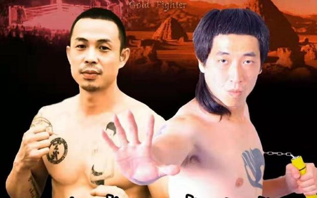 Thượng đài cùng nhà vô địch tán thủ, Lý Tiểu Long phiên bản lỗi bị đá bất tỉnh sau vỏn vẹn 6 giây - Ảnh 1.