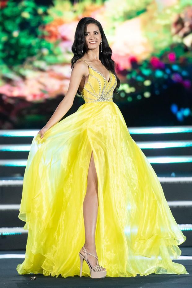 Chung kết Miss World Việt Nam 2019: Thí sinh nhan sắc vẹn toàn nhưng váy áo lại lắm lỡ làng - Ảnh 2.