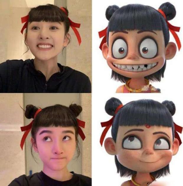 Mỹ nhân Cbiz bắt trend cosplay Na Tra: Lưu Diệc Phi gây sốt vì quá xinh, người thứ 4 lại giống bản gốc tới bất ngờ - Ảnh 4.
