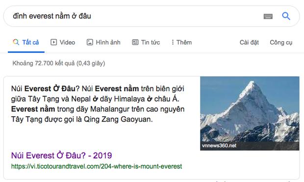Đỉnh Everest cao nhất thế giới thì ai cũng biết nhưng đảm bảo 90% bạn sẽ trả lời sai vị trí chính xác của ngọn núi - Ảnh 2.