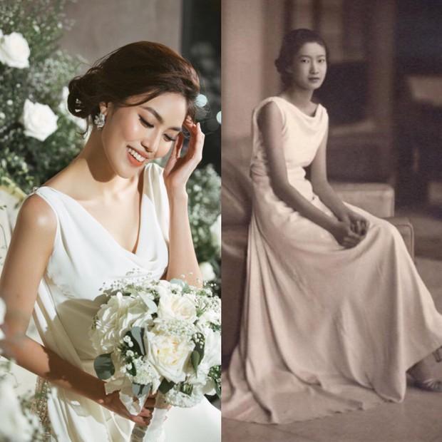 Bóc loạt bí mật đằng sau váy cưới của các mỹ nhân Việt đình đám - Ảnh 6.